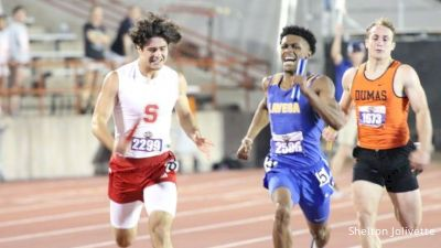 Dramatic 4x4 Anchor Leg At UIL State Championships