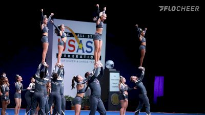 Watch Highlights From Louisiana Cheer Force Slate's Semi-Finals Performance