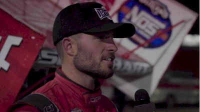 Logan Schuchart Charges From 21st To Second At Eldora's #LetsRaceTwo