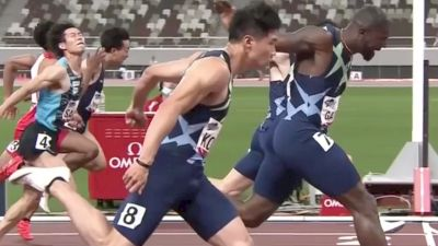 Justin Gatlin Wins 100m In Tokyo | 2021 Continental Tour Gold