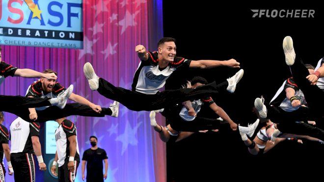 Photo Album: L7 Int. Open Large Coed, Semis | The Cheerleading Worlds 2021