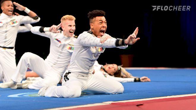 Photo Album: L6 Sr. Large Coed, Semi-Finals | The Cheerleading Worlds 2021