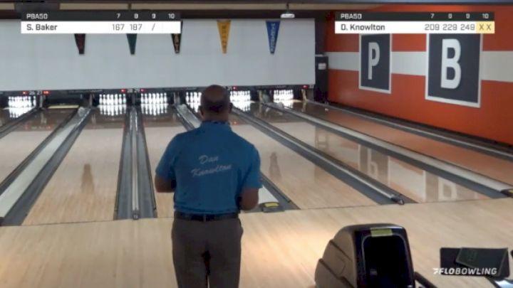 Full Replay: FloZone - 2021 PBA50 Bud Moore Classic - Match Play
