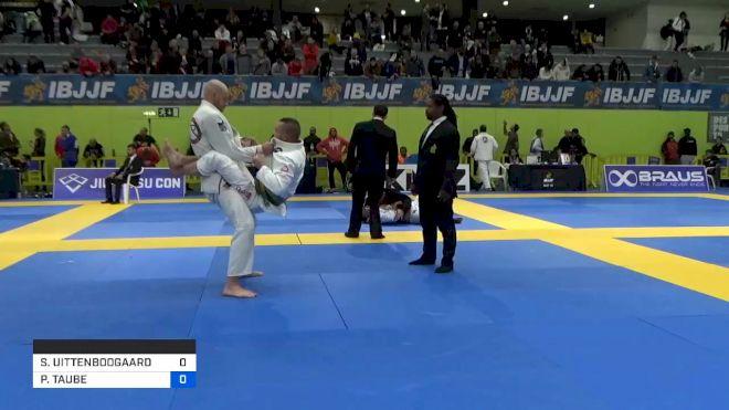 STEFAN UITTENBOOGAARD vs PITER TAUBE 2020 European Jiu-Jitsu IBJJF Championship