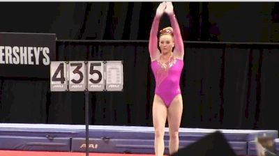 MyKayla Skinner Over The Years On Vault At U.S. Classic