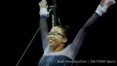 Morgan Hurd Over The Years On Uneven Bars At U.S. Classic