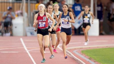 Chasing Down Leader For 800m State Title