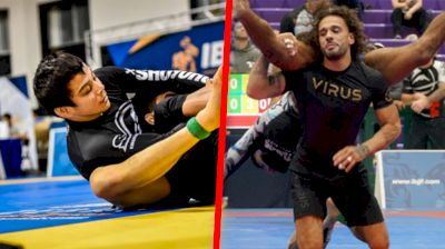 Paulo Miyao & Junny Ocasio Are The Light Feather Frontrunners At No-Gi Pans