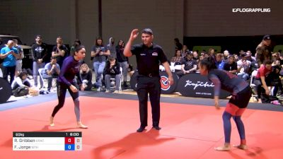 Rita Gribben vs Fabiana Jorge 2019 ADCC North American Trials