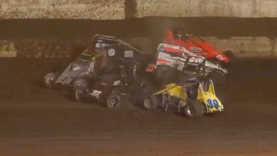Big Pile-Up in the Salute to Indy USCA/CRA Feature at Perris