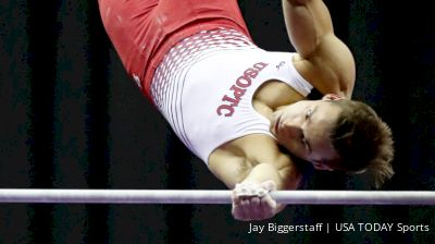 Sam Mikulak Over The Years On High Bar At US Championships