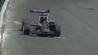 Jeff Abold Qualifies on the Pole for the Oswego Classic
