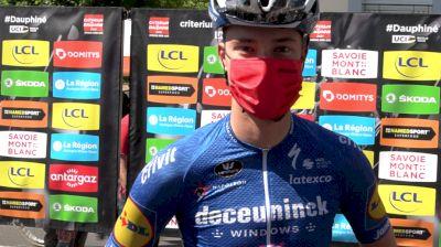 Ian Garrison: Tough Start To The 2021 Critérium Dauphine
