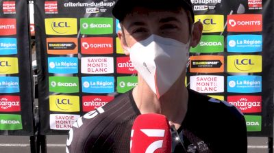 Chad Haga: Personal Objectives At The 2021 Critérium Dauphine
