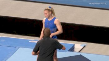 Jade Carey Laid Out Triple Double During US Championships Podium Training