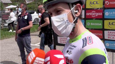 Louis Meintjes: 'Always An Advantage Staying In The Group' - 2021 Critérium Dauphiné