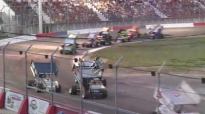 Feature Replay | Speed Tour Sprint Cars Friday at Meridian
