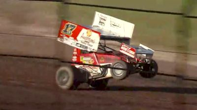 Bill Balog Sets Quicktime with a Big Wheelie at the Plymouth Dirt Track