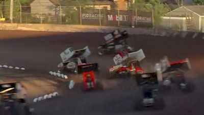 Heat Races   All Star/IRA Sprints at Plymouth Dirt Track