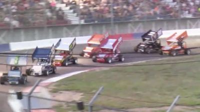 Feature Replay | Speed Tour Sprint Cars Saturday at Meridian