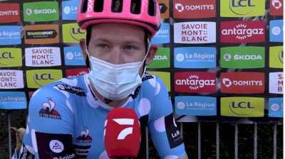 Lawson Craddock: 'Going To Be A Tough Fight To Keep The Jersey' - 2021 Critérium Dauphiné