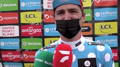 Mark Padun: 'I Had This Freedom, It Went In An Amazing Way' - 2021 Critérium Dauphiné