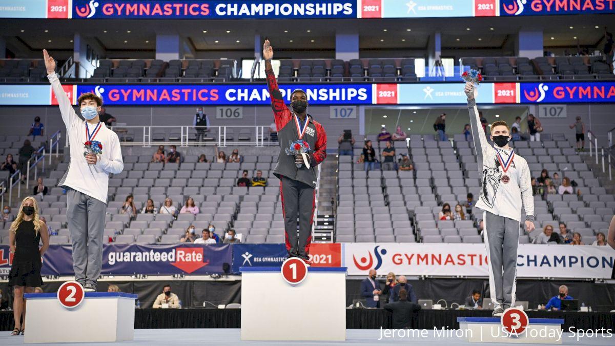 Richard, Petrosyan Take 2021 U.S. Gymnastics Championships Junior AA Titles