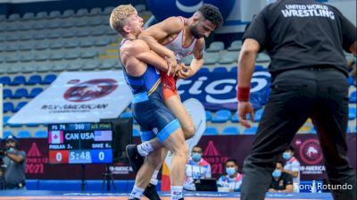 74 kg Semifinal - Jasmit Singh Phulka, Canada vs Kyle Douglas Dake, United States