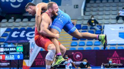 97 kg Semifinal - Kyle Frederick Snyder, United States vs Marcos Carrozzino, Brazil