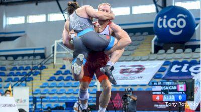 97 kg Rr Rnd 1 - Kyle Frederick Snyder, United States vs Richard Phillip Junior Deschatelets, Canada