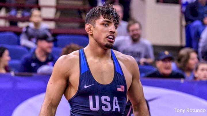86 kg Semifinal - Myles Amine, SMR vs Zahid Valencia, USA