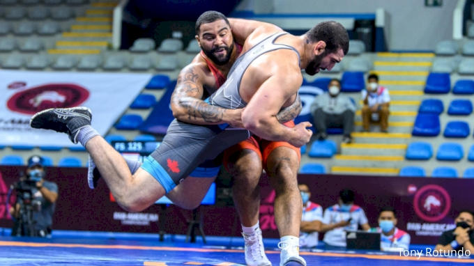 picture of Men's Freestyle Dominates At Pan Ams