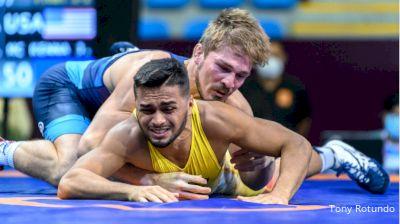 65 kg Final - Marcos Wesley De Brito Siqueira, Brazil vs Joseph Christopher Mc Kenna, United States