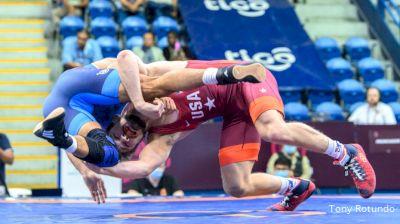 65 kg Semifinal - Joseph Christopher Mc Kenna, United States vs Sebastian C Rivera, Puerto Rico