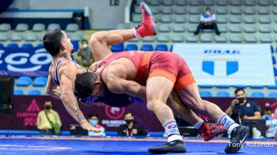 70 kg Final - Alec William Pantaleo, United States vs Carlos Eduardo Romero Millaqueo, Chile