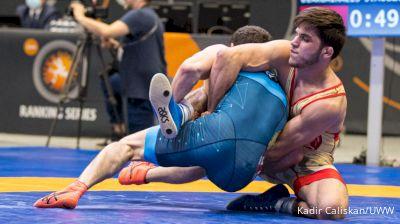 65 kg Match - Yianni Diakomihalis, USA vs Ismail Musukaev, HUN
