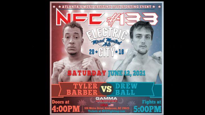 Full Fight Card For NFC MMA 133