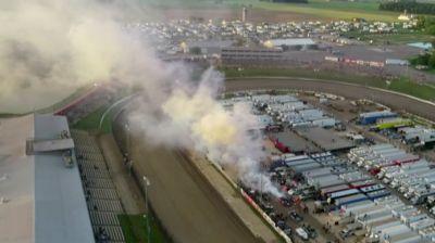 Josh Rice Goes Up in Smoke at Eldora