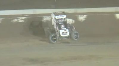 Corey Day Holds On For First USAC National Midget Win