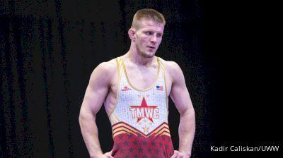 74 kg Prelims - Jason Nolf, USA vs Daniyar Kaisanov, KAZ