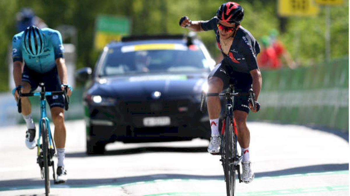 Ineos' Carapaz Makes Tour De France Statement At Swiss Summit