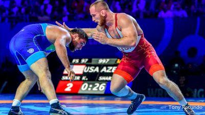 97kg Semifinal - Kyle Snyder, USA vs Sharif Sharifov, AZE