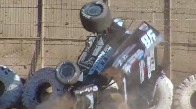 Sean Watts Qualifying Tumble at Placerville