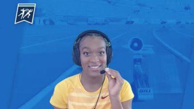 USC's Jasmine Jones - 4x100m Relay Champion
