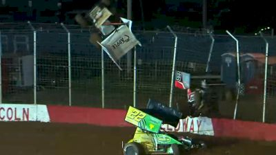 High Flying Heat Race Crash at Lincoln