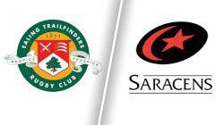 2021 Ealing Trailfinders vs Saracens