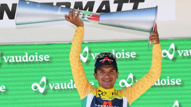 INEOS' Carapaz Wins Tour De Suisse