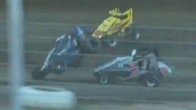Nienhiser/Swanson Double Heat Race Flip at Bridgeport