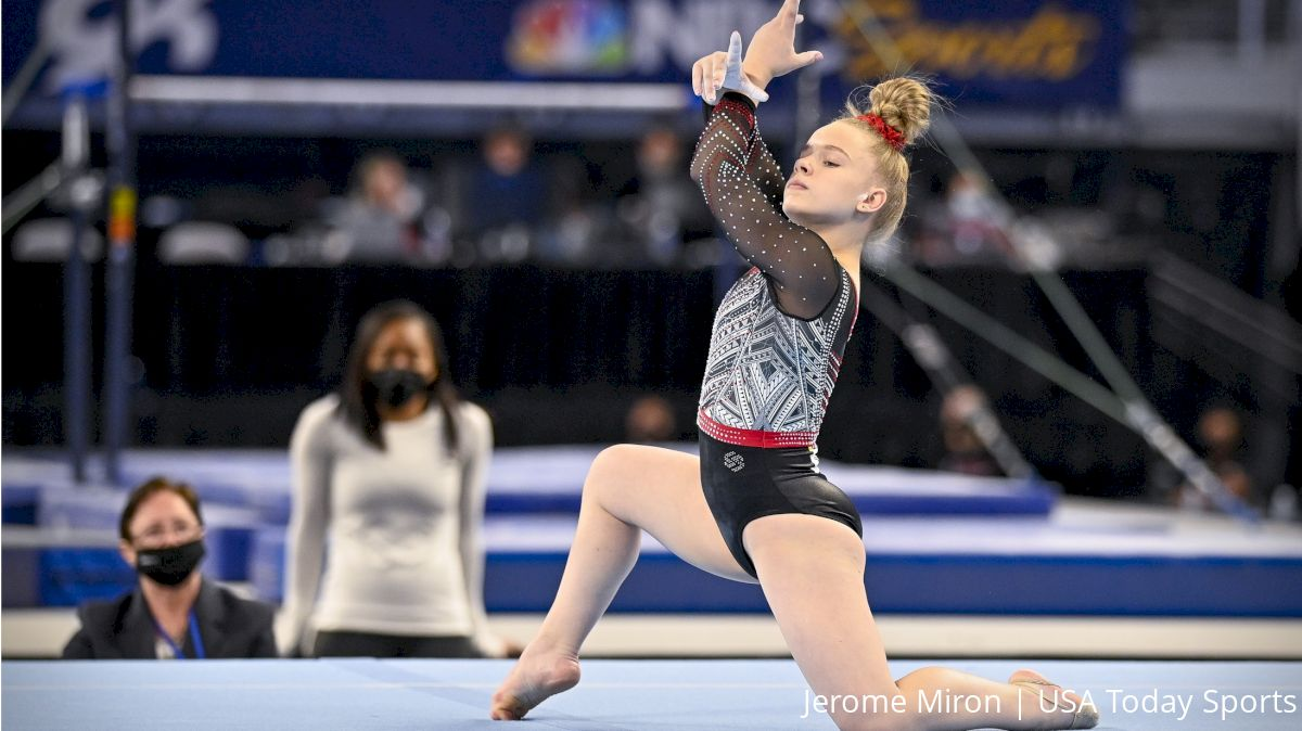 Joscelyn Roberson: A Pint Sized Gymnast With A Big Personality