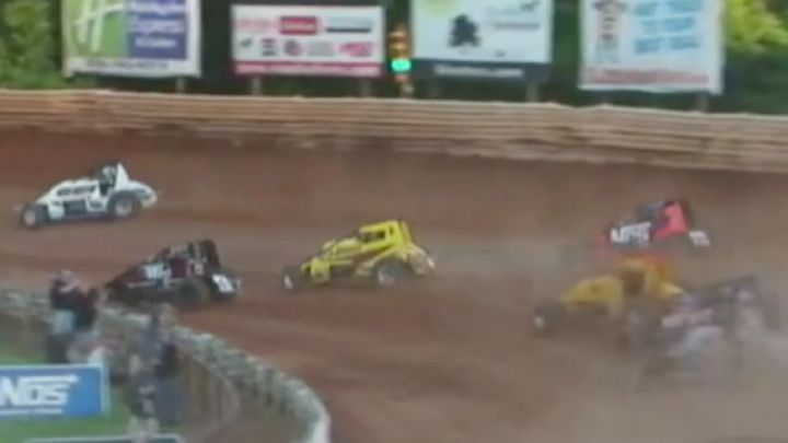 Heat Races   USAC Eastern Storm at Selinsgrove